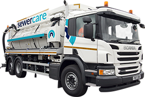 Commercial drain, sewer maintenance & repair water recycling unit